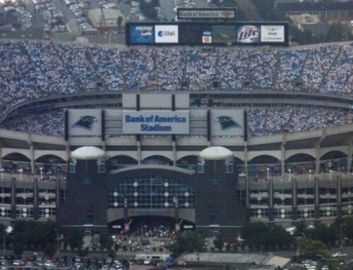 Bank of America Stadium in Charlotte, NC