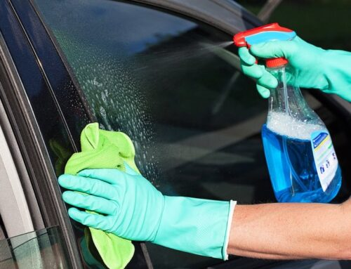 What is the best way to detail auto glass?